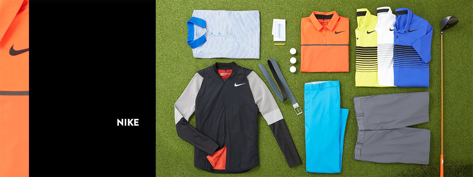 Nike golf apparel.