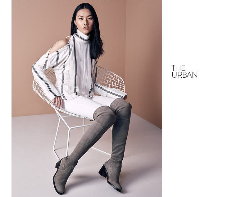 The Urban over-the-knee boot.
