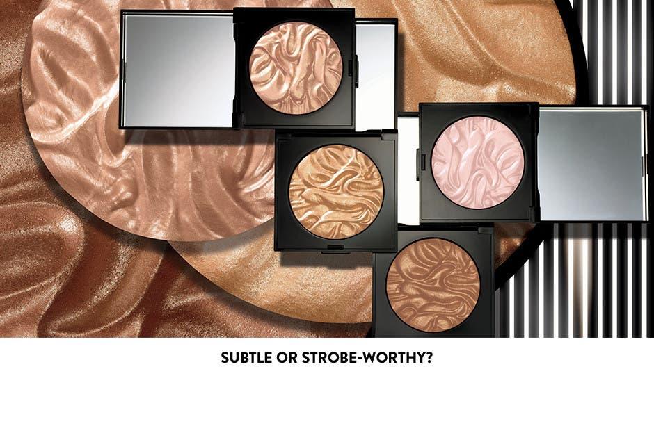 Subtle or strobe-worthy? Face Illuminator Highlighting Powder.