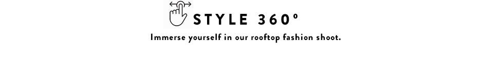 Style 360 video: watch our rooftop fashion shoot.