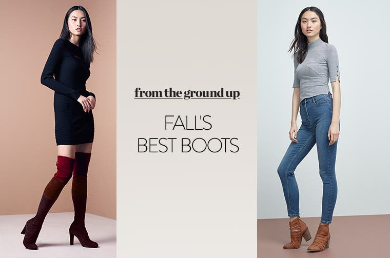 Fall's best boots for women.