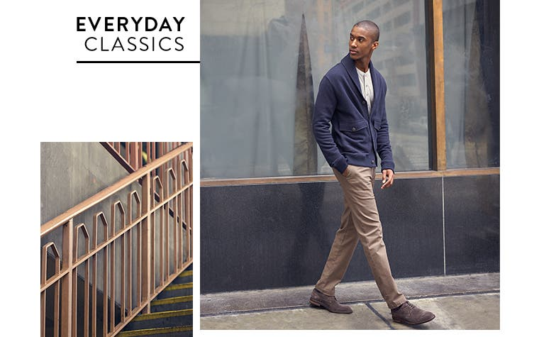 Everyday classics from Nordstrom Men's Shop.