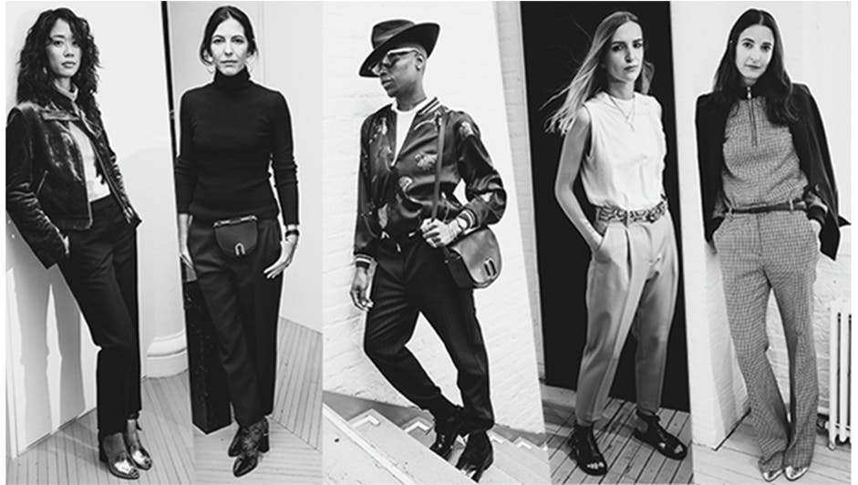 3.1 Phillip Lim: five modern-day heroines who wear the pants.