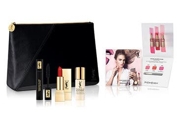 Receive a free 4-piece bonus gift with your $150 Yves Saint Laurent purchase