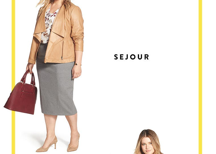 Anniversary Sale plus-size women's clothing by Sejour.