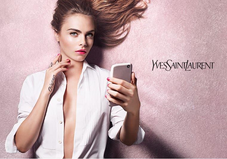 Yves Saint Laurent beauty.