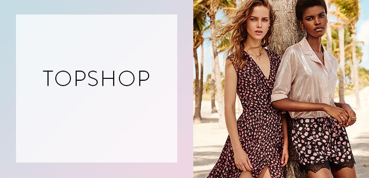 Topshop women's clothing.