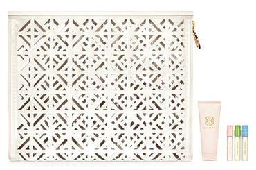 Tory Burch women's fragrance gift with purchase.