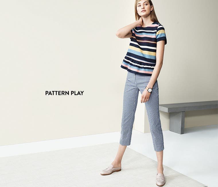 Pattern play.