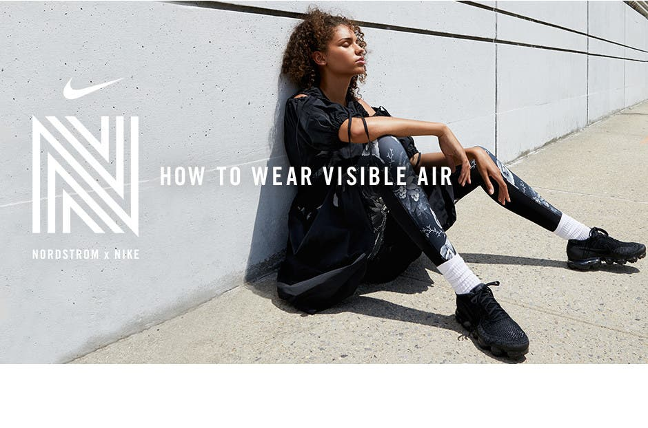 Nordstrom x Nike: how to wear visible air.