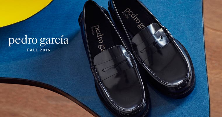 Pedro Garcia fall 2016 women's designer shoes.