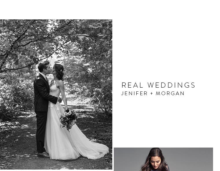 On our Real Weddings blog: Jenifer and Morgan.