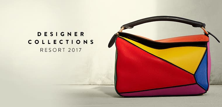 Resort 2017 designer collections. Loewe and more.
