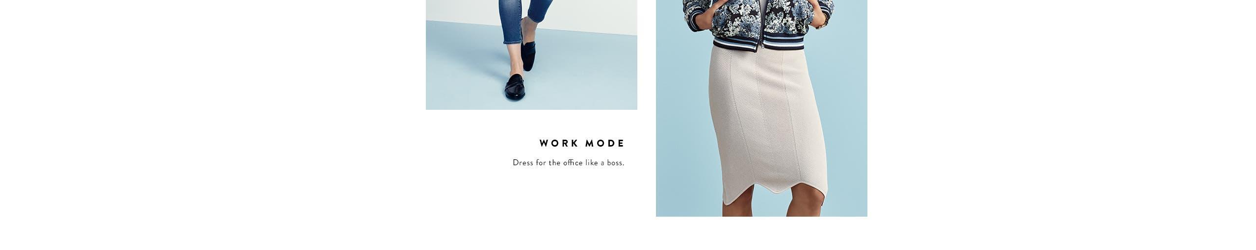 Work mode. Dress for the office like a boss.