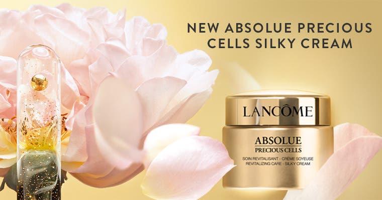 New Lancôme Absolue Precious Cells Silky Cream.