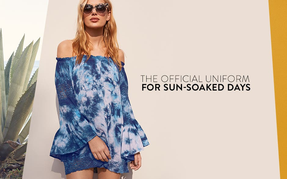 The official uniform for sun-soaked days.