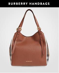 Burberry handbags.