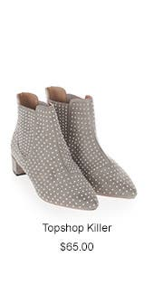 Topshop Killer Studded Chelsea Boot.