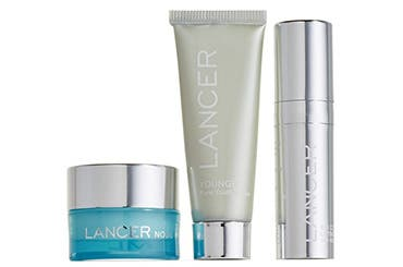 LANCER Skincare gift with purchase.