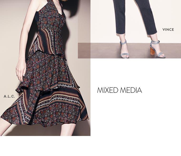 Mixed media: A.L.C.