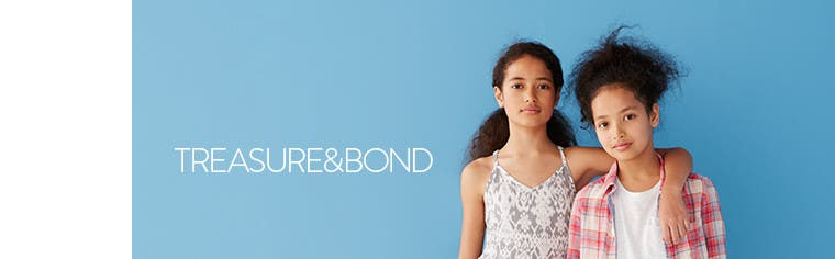 Treasure&Bond clothing for girls.