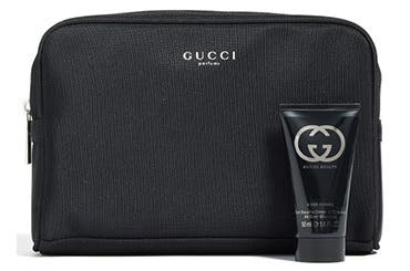 Gucci men's fragrance gift with purchase.