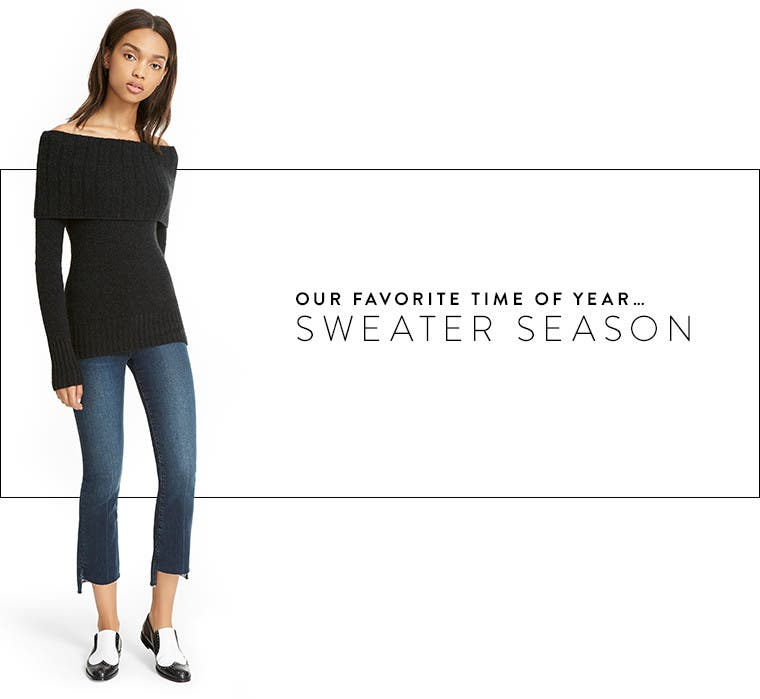 Sweater season.