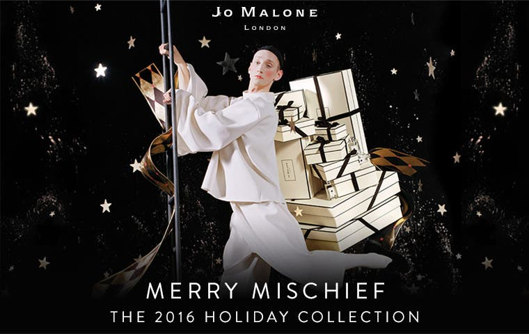 Merry Mischief: the 2016 Jo Malone London holiday collection.