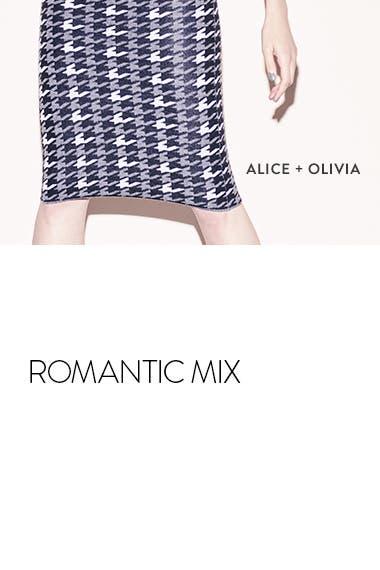 Opposites attract: Alice + Olivia.