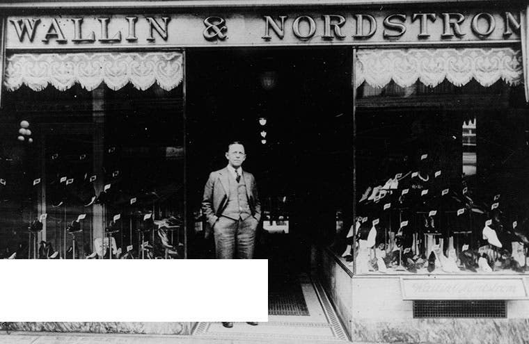 The first Nordstrom store.
