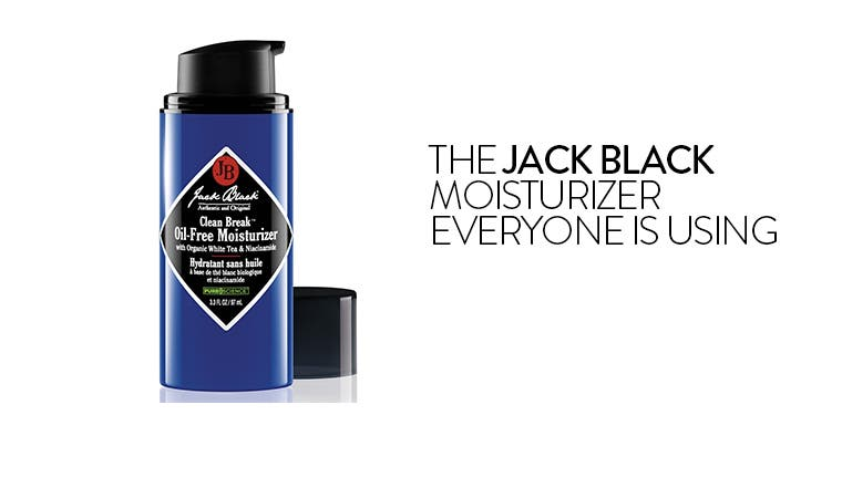 The Jack Black moisturizer everyone is using.