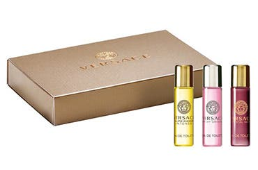 Versace women's fragrance gift with purchase.