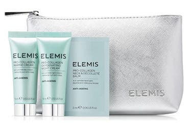 Receive a free 4-piece bonus gift with your $150 Elemis purchase