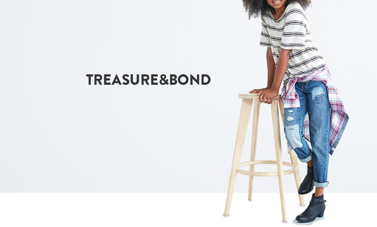 Treasure&Bond clothing for kids.