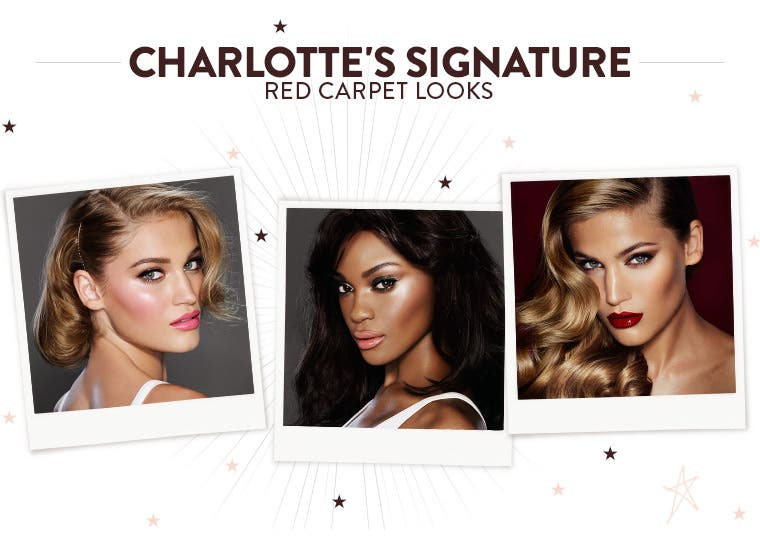 Charlotte's signature red carpet looks.