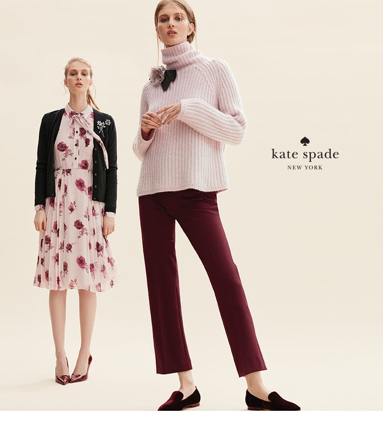 Live colorfully: kate spade new york women's clothing.