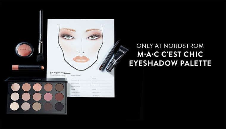 Only at Nordstrom: M·A·C C'est Chic Eyeshadow Palette.