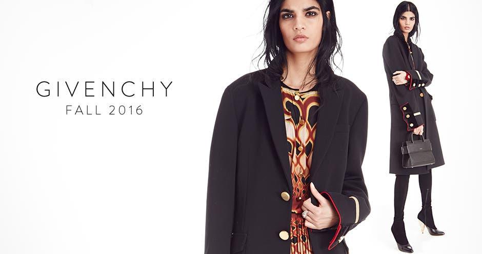 Givenchy fall 2016.