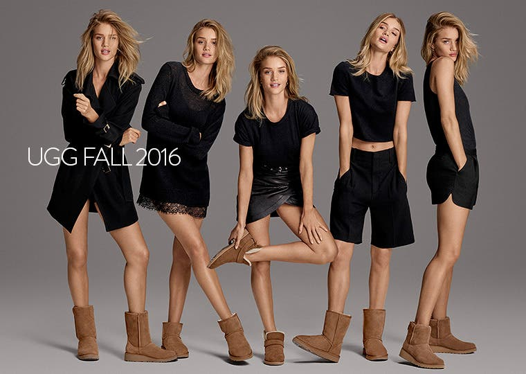 UGG Fall 2016: the new Classic collection.