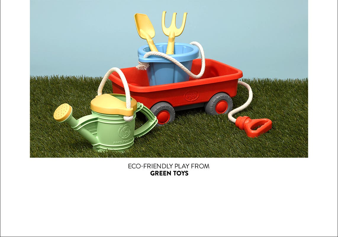 Eco-friendly play from Green Toys.