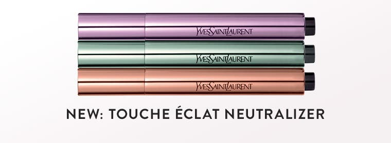 New: Touche Éclat Neutralizer makeup from Yves Saint Laurent.