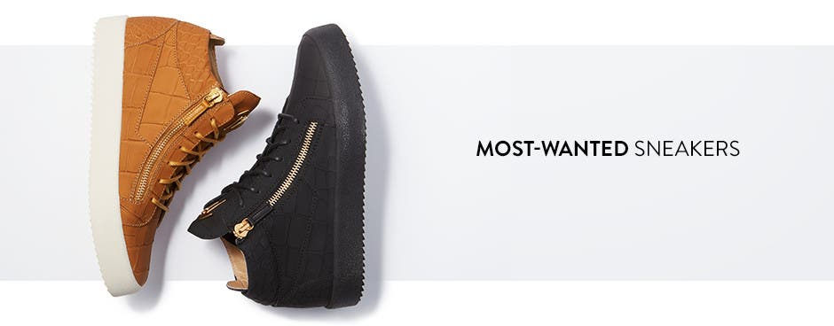 Most-wanted sneakers.