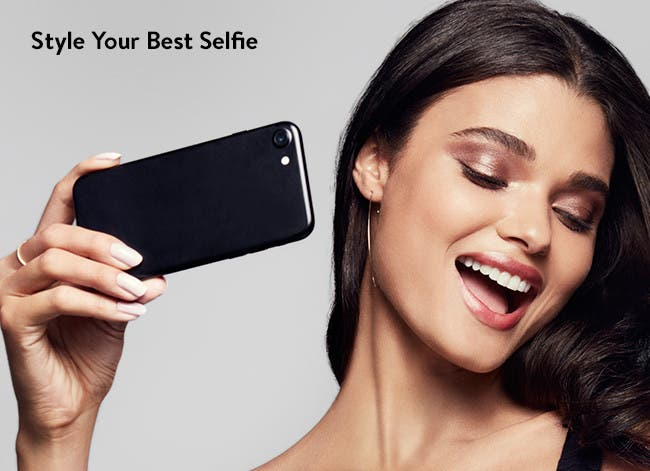 Style your best selfie.