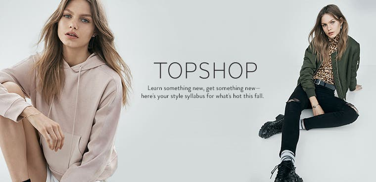 New Topshop for fall.