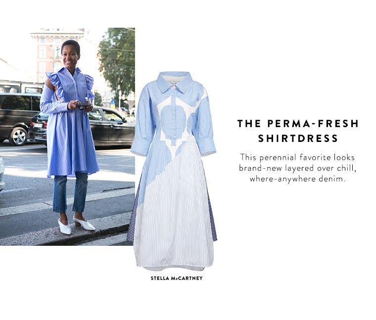 Spring 2017 designer must-have: the shirtdress.