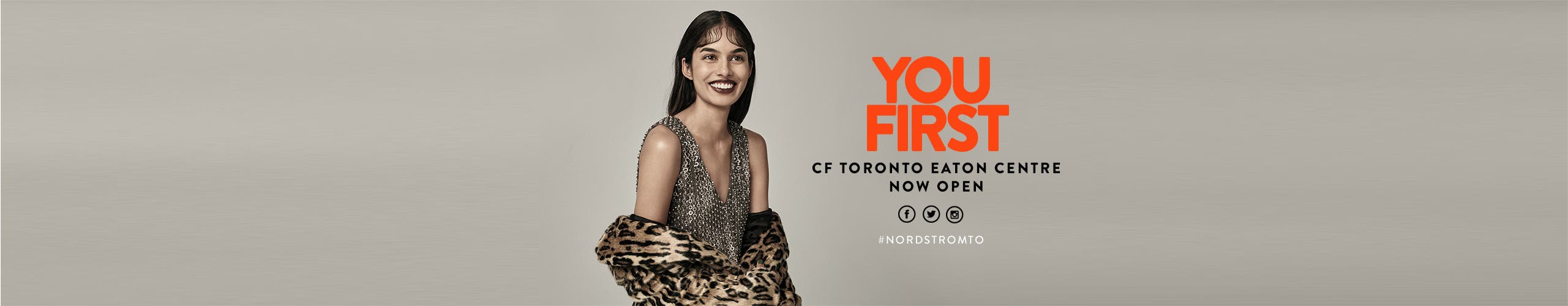Nordstrom at CF Toronto Eaton Centre is now open.