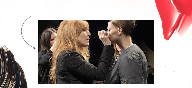 Video of makeup artist Charlotte Tilbury.