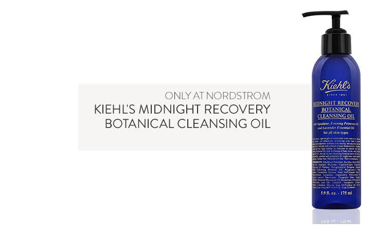 Only at Nordstrom: Kiehl's Midnight Recovery Botanical Cleansing Oil.