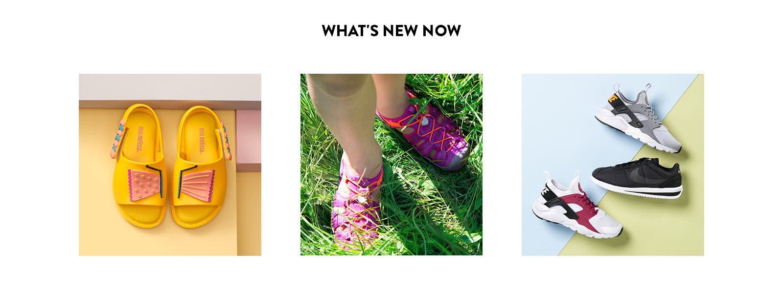 What's new in girls' shoes.
