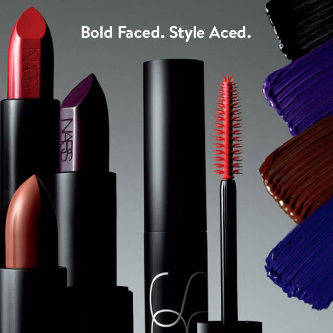 Bold Faced. Style Aced.